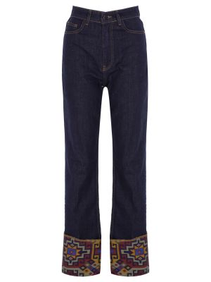 Boho Denim Pantolon