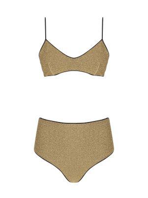 Gold Bikini Takım